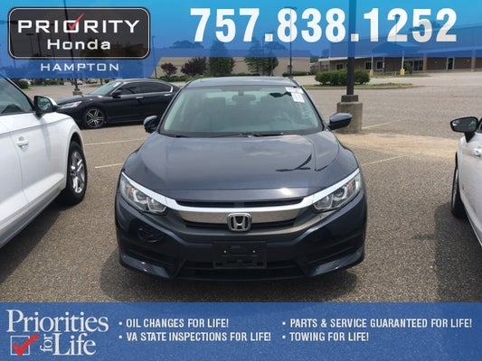 2016 honda civic ex in norfolk, va - priority ford