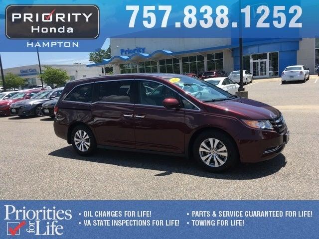 2017 Honda Odyssey EX L In Norfolk, VA   Priority Ford